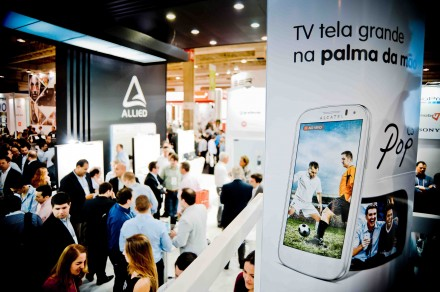 Alcatel na Feira Eletrolar News